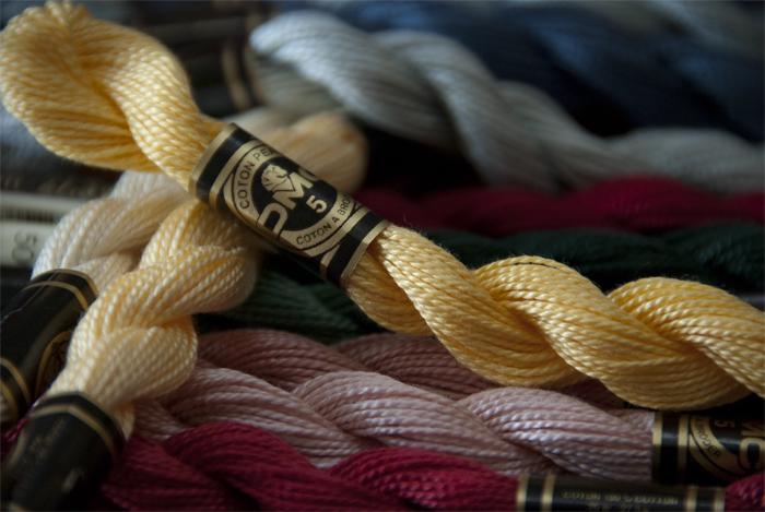 Threads And Fibers Mail: DMC Threads And Fibers